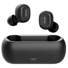 QCY T1C TWS Dual Bluetooth 5.0 Earphones  - Black