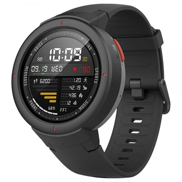 Huami AMAZFIT Verge 3 Smart Watch - Deep Gray