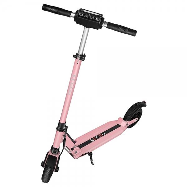 Hulajnoga Elektryczna - KUGOO S1 350W - Różowy