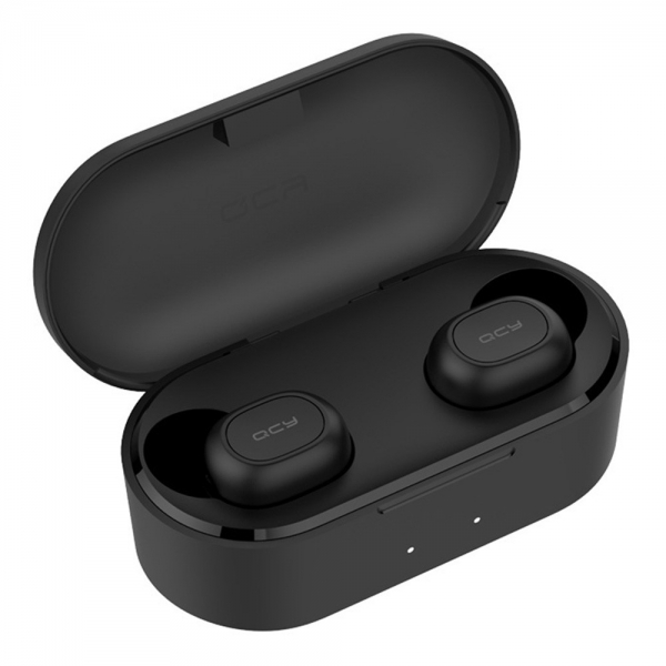 QCY T2C TWS Dual Bluetooth 5.0 Earbuds - Black