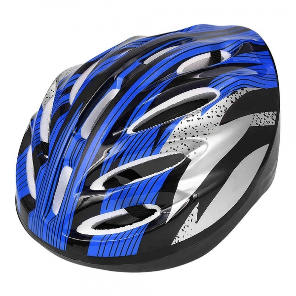 Adjustable Sports Safety Protective Bicycle Helmet Equipment - Blue