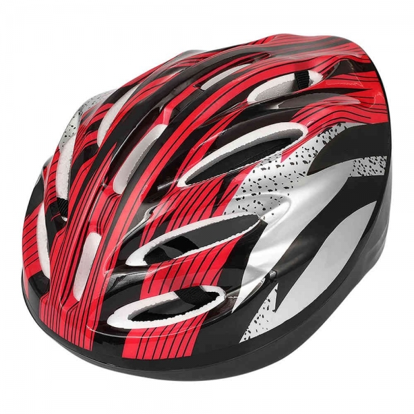 Adjustable Sports Safety Protective Bicycle Helmet Equipment - Red