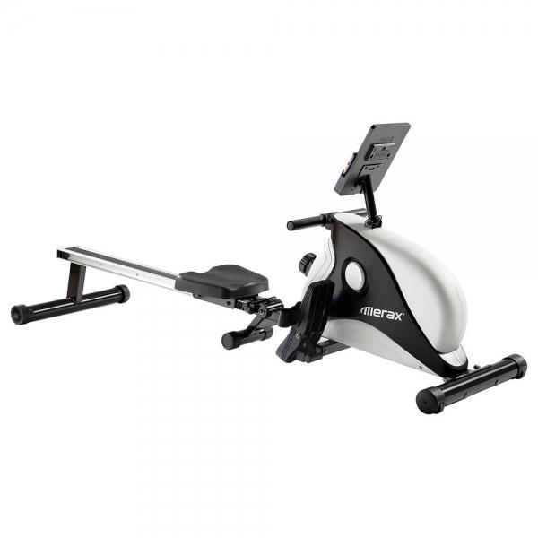 Merax Rowing Machine Folding Rudders - Black