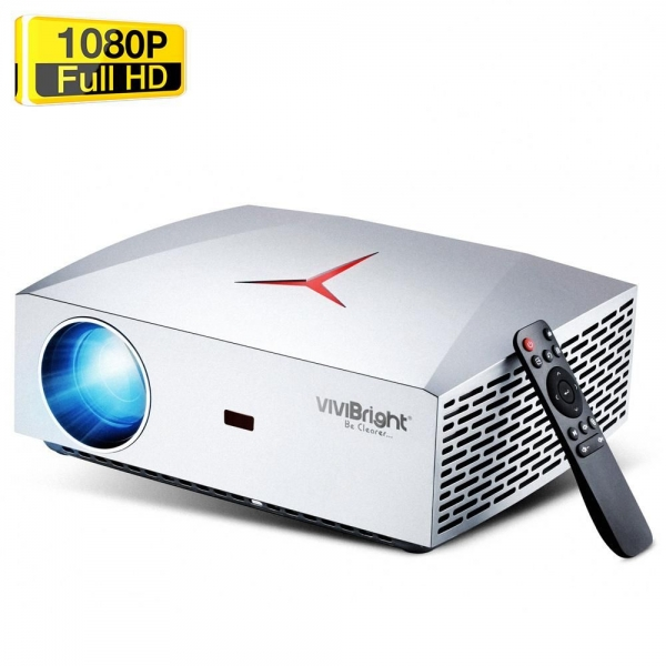 VIVIBRIGHT F40 Native 1080P Linux LED Projector
