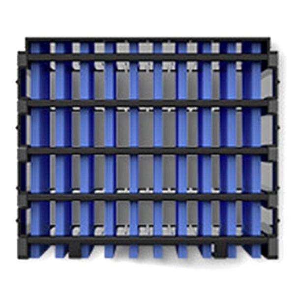 Wymienny filtr chłodnicy powietrza NexFan - czarny