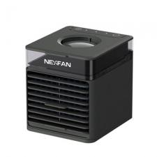 Wielofunkcyjny przenośny wentylator chłodzący NexFan w wersji UV - czarny