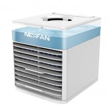 Wielofunkcyjny przenośny wentylator chłodzący NexFan w wersji UV - biały