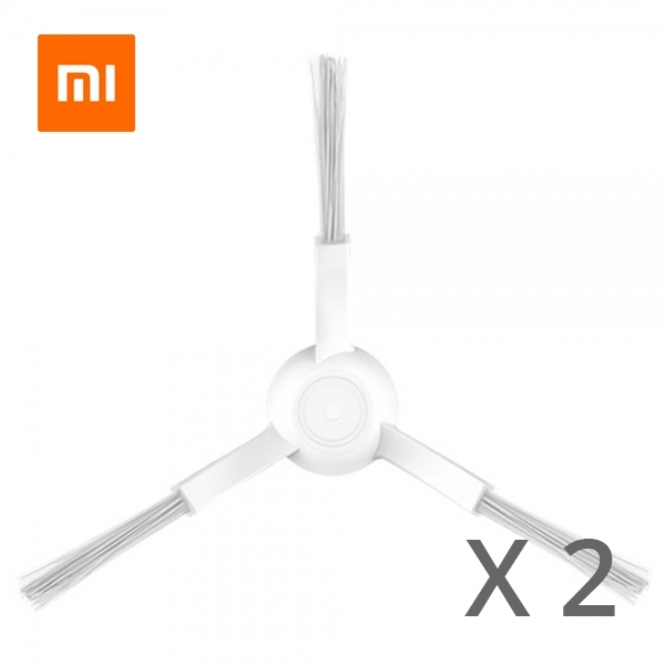 2pcs Side Brushes For Xiaomi MI Home STYJ02YM  - White