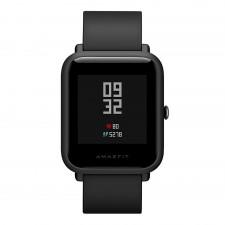 Huami AmazFit Bip Sportowy Smartwatch / GPS / IP68 / 45 dni czuwania - czarny