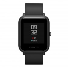 Huami AmazFit Bip Sports Smartwatch / IP68 / Bluetooth / GPS / 45 Days Standby - black