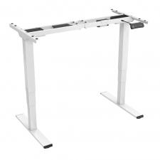 Biurka elektrycznie regulowaną wysokością ACGAM ET225E – Białe (Tylko Rama)
