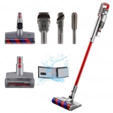 JIMMY JV65 Plus Handheld Cordless Stick Vacuum Cleaner + Water Tank - Red