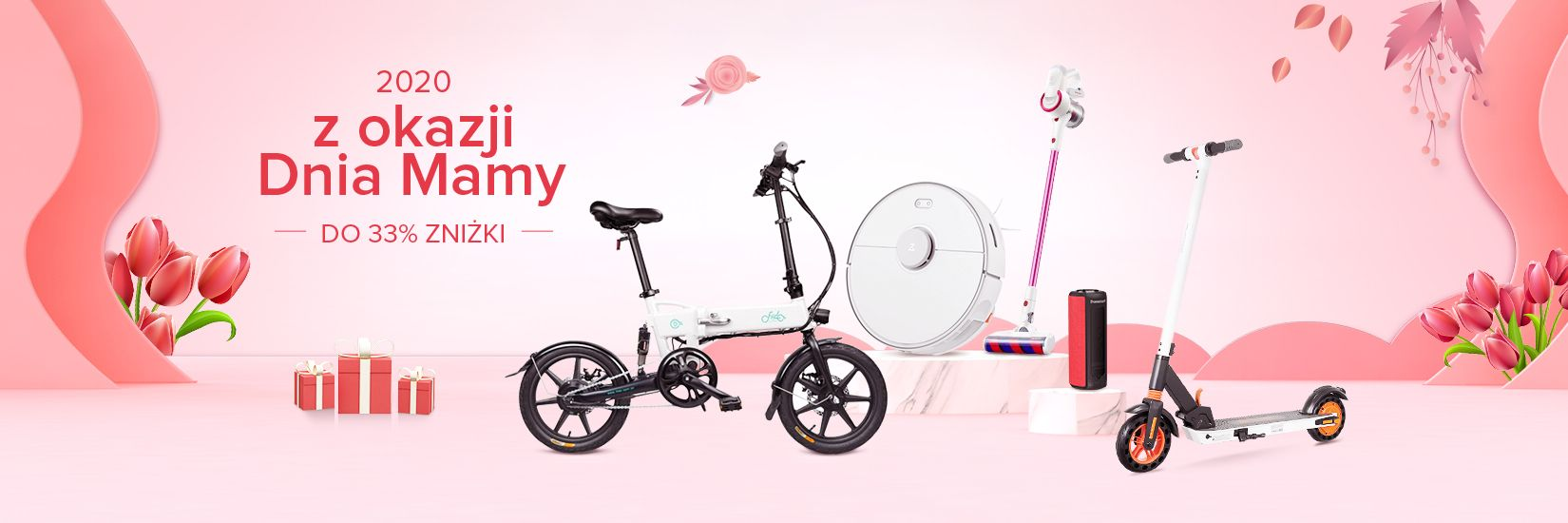 Promocja z okazji Dzień Matki 2020 - Geekbuying.pl - AGD Do 33% ZNIŻKI