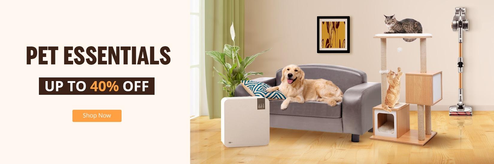 Take care of your pet, Buy pet furniture at geekbuying.pl