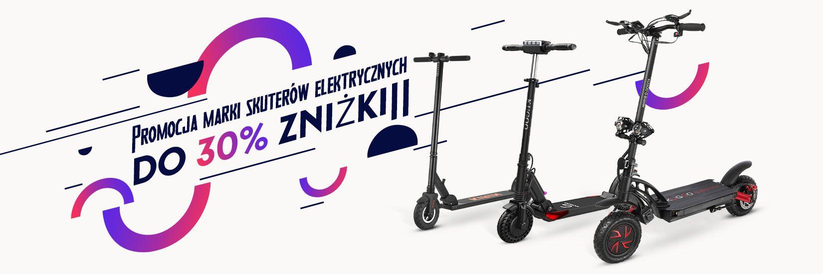 Wyprzedaż marki Kugoo - Geekbuying.pl