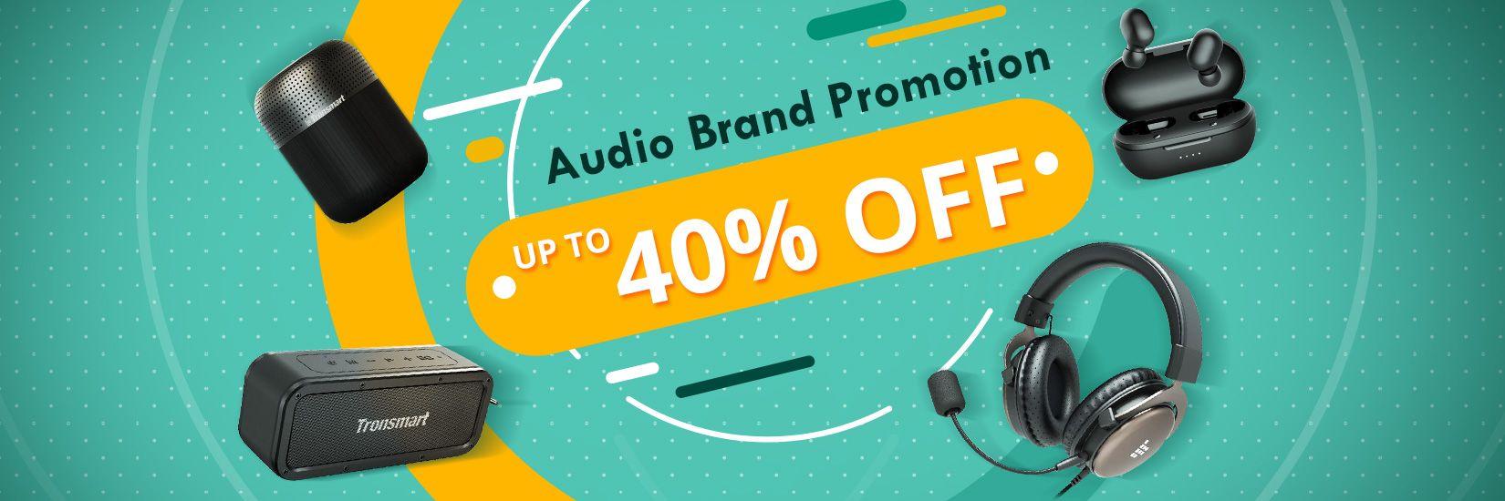 Audio Brand Sale