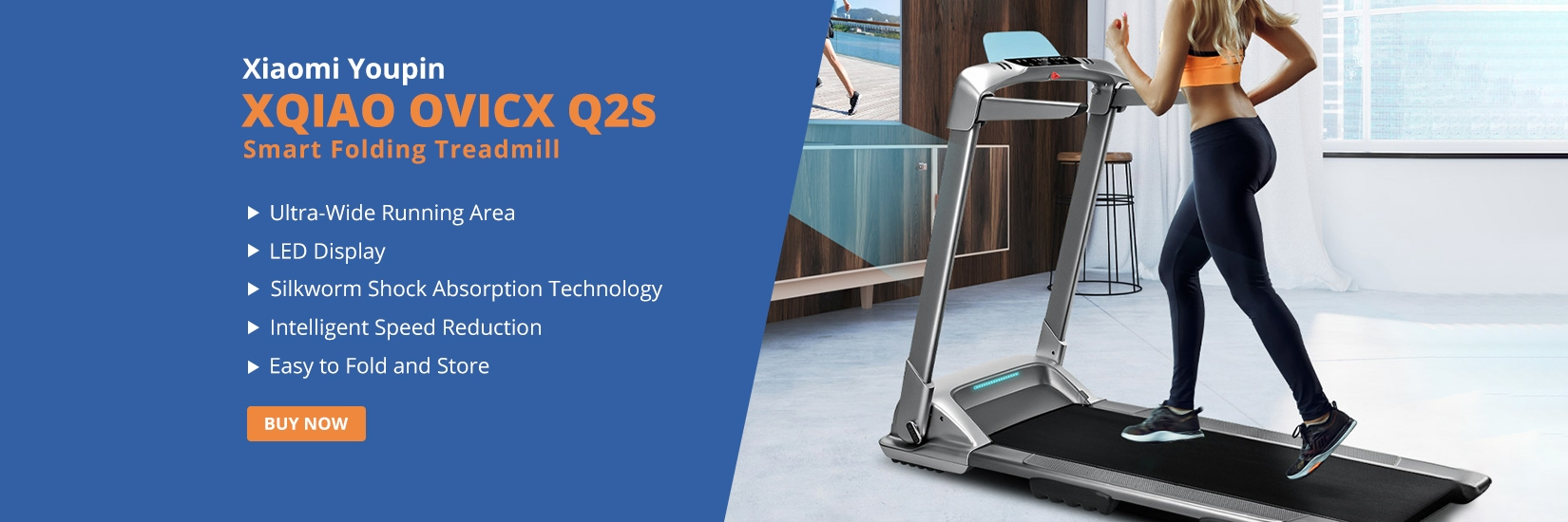 XQIAO OVICX Q2S Smart Folding Treadmill