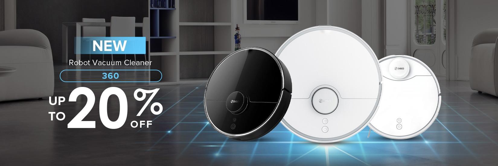 Robot Vacuum Cleaner 360 S5, 360 S7 Pro, 360 S9
