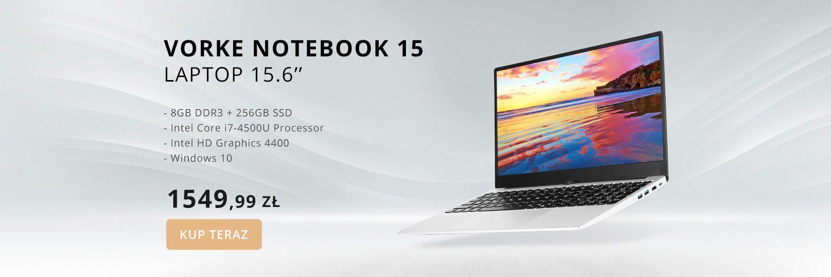 VORKE Notebook 15