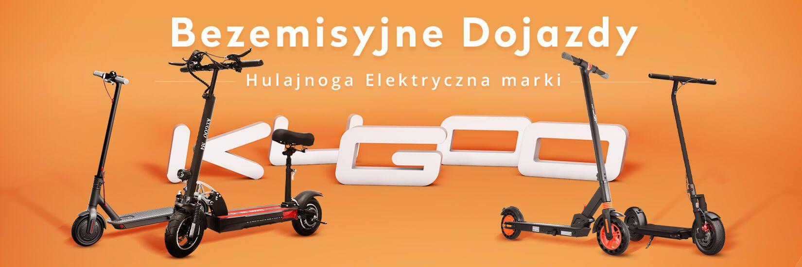 Hulajnoga Elektryczna marki KUGOO - Geekbuying.pl
