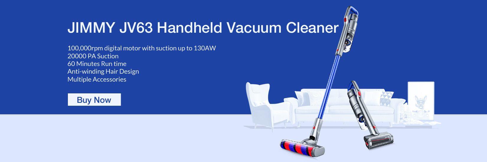 JIMMY JV63 Handheld Cordless Stick Vacuum Cleaner - Geekbuying.pl