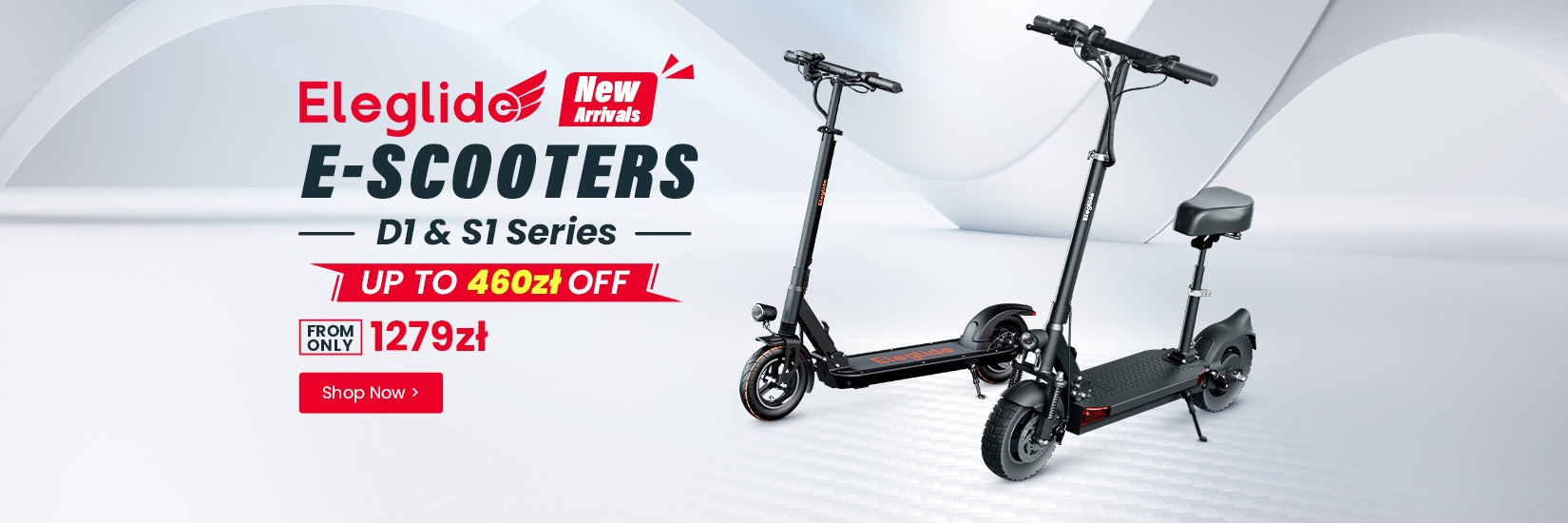 New arrival - Eleglide E-scooter, up to 30% OFF