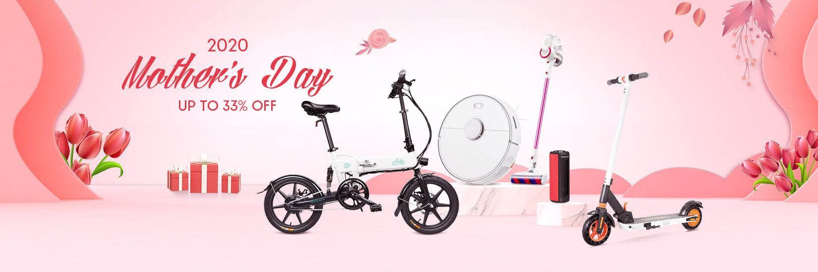 Mother's Day 2020 promotion - Geekbuying.pl - Home appliances UP TO 33% DISCOUNT