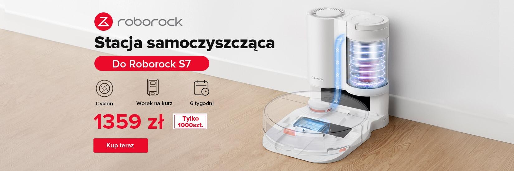 Tylko 1000szt!  Automatyczna Stacja Ssąca dla Robota Odkurzającego Roborock S7 na geekbuying.pl - Kup teraz ! 240zł taniej !