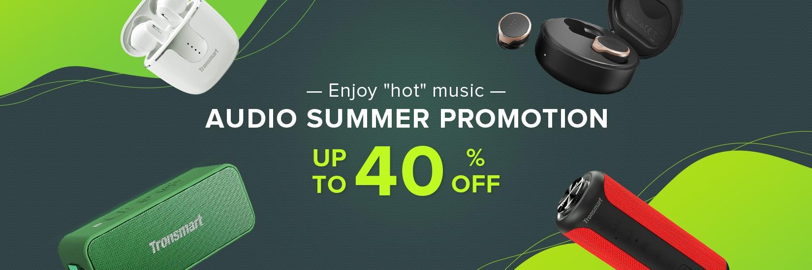 Summer Audio Promotion - Geekbuying.pl