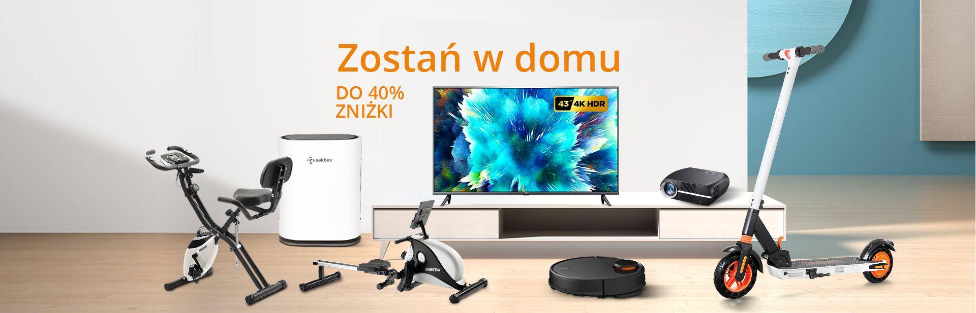 Zostań w domu - Geekbuying.pl Wyprzedaż Do 40% ZNIŻKI