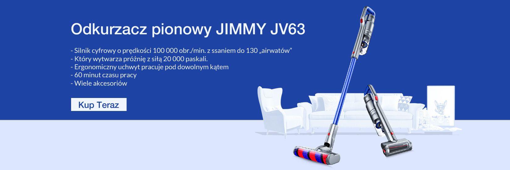 Odkurzacz pionowy JIMMY JV63 - Geekbuying.pl